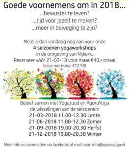 yoga workshop 2018